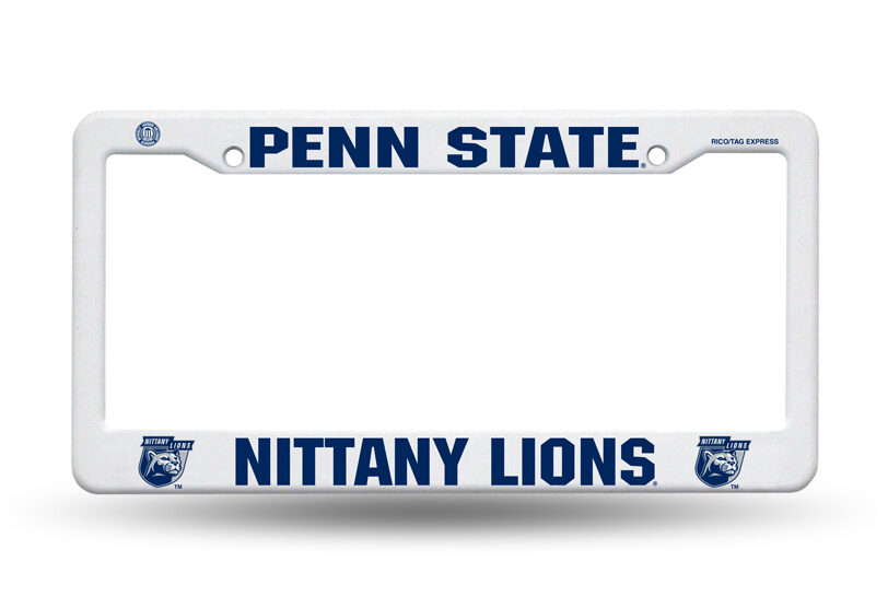 Ncaa License Plate Frame Krazy Signs Usa Inc
